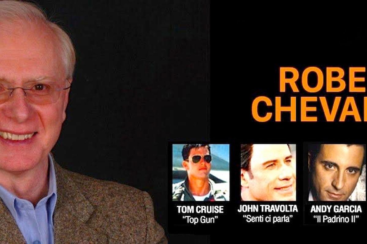Roberto Chevalier, la voce italiana di Tom Cruise si racconta