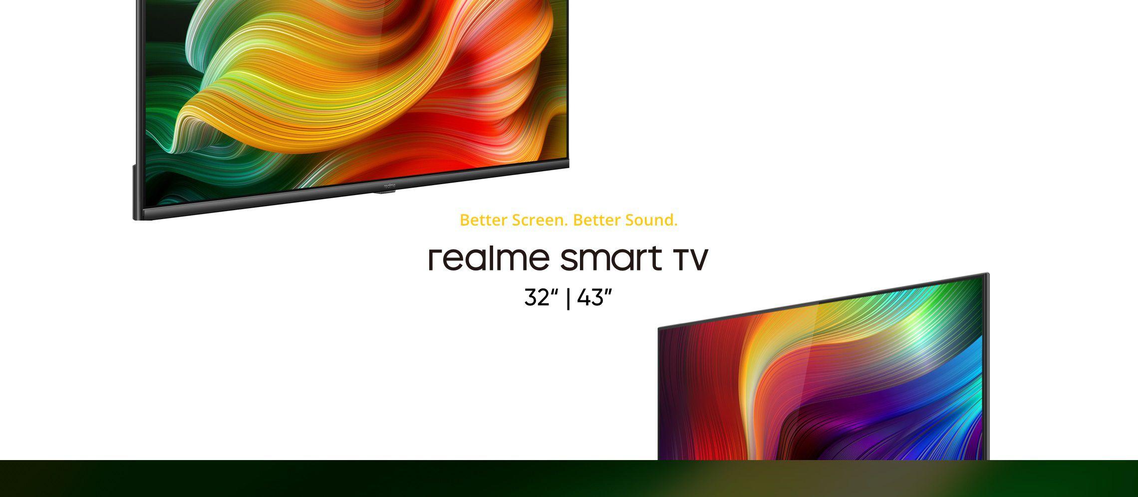 Realme Smart TV presentante ufficialmente: le prime (ed interessanti) smart TV di Realme