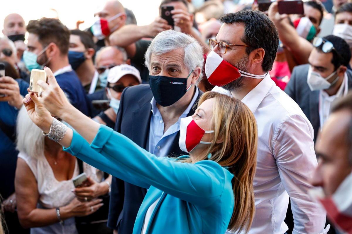 Il 2 giugno di Salvini, Meloni e Tajani