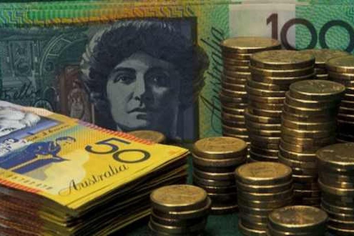 Mercati, il rally dell'Aussie non accenna a fermarsi. Trimestre d'oro contro l'USD