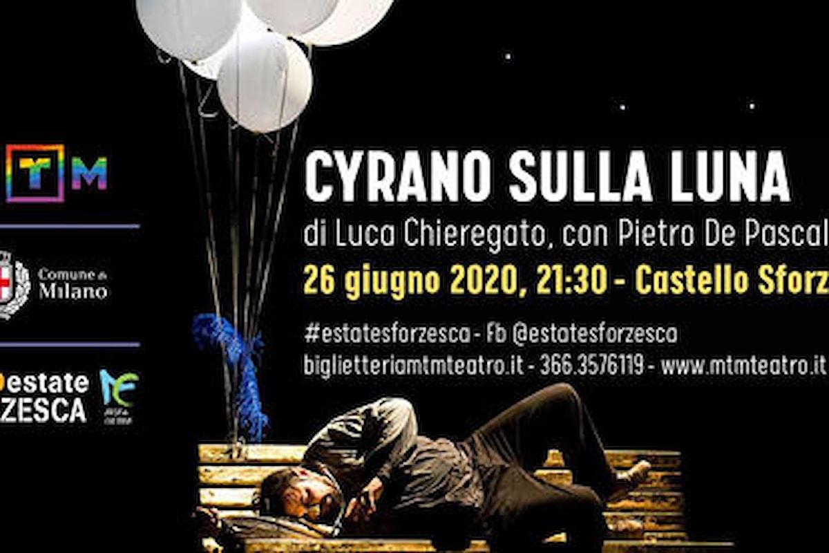 """""""Cyrano sulla Luna"""", per Estate Sforzesca intitolata """"Un palcoscenico per Milano"""""""