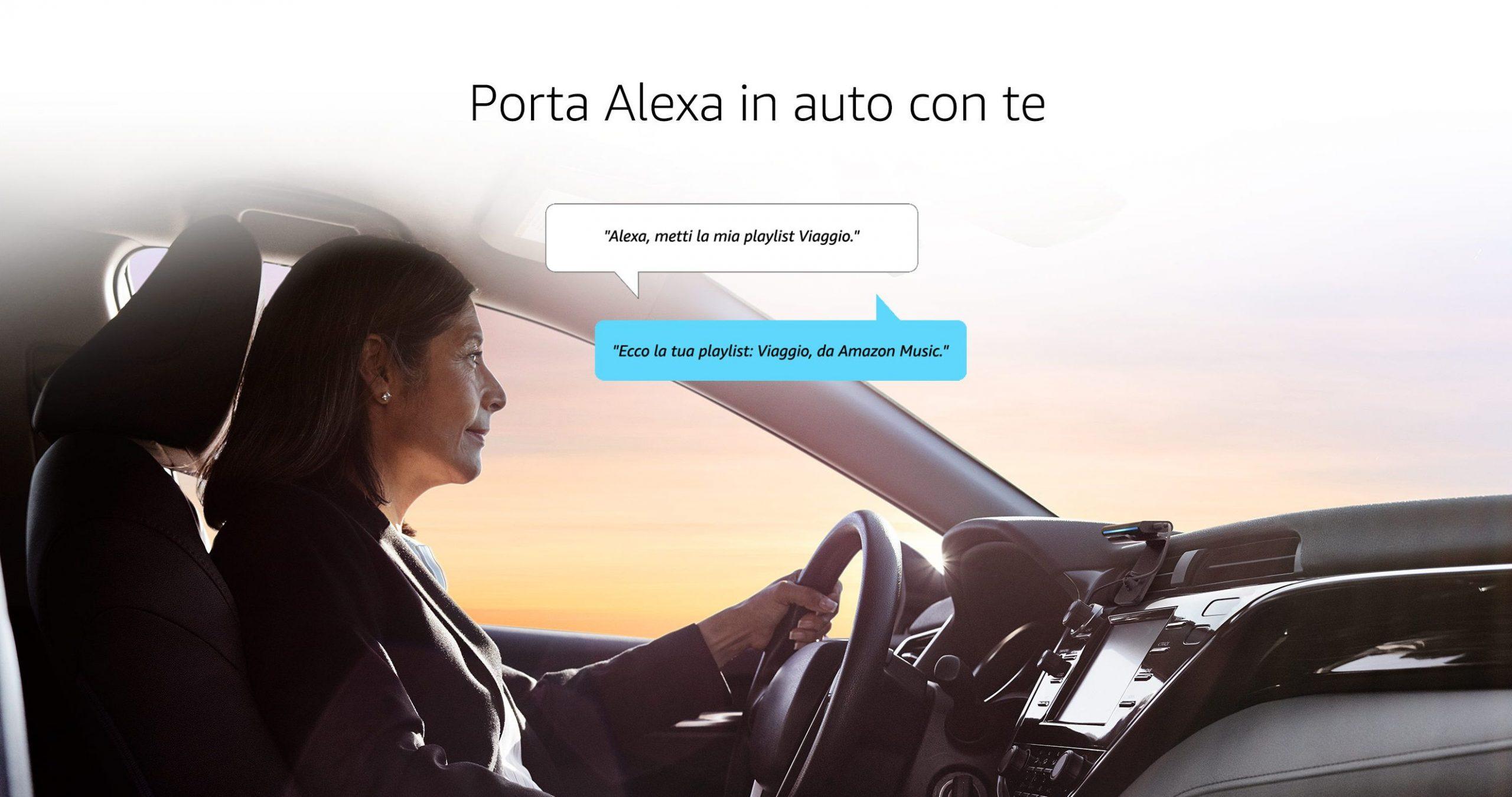 Echo Auto ora può essere acquistato anche in Italia: fai diventare smart la tua auto con Alexa