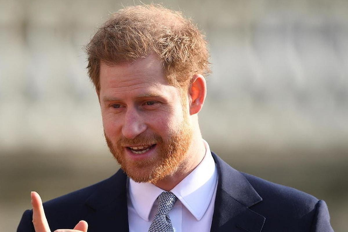 Regno Unito: Harry, il Principe Blow ...