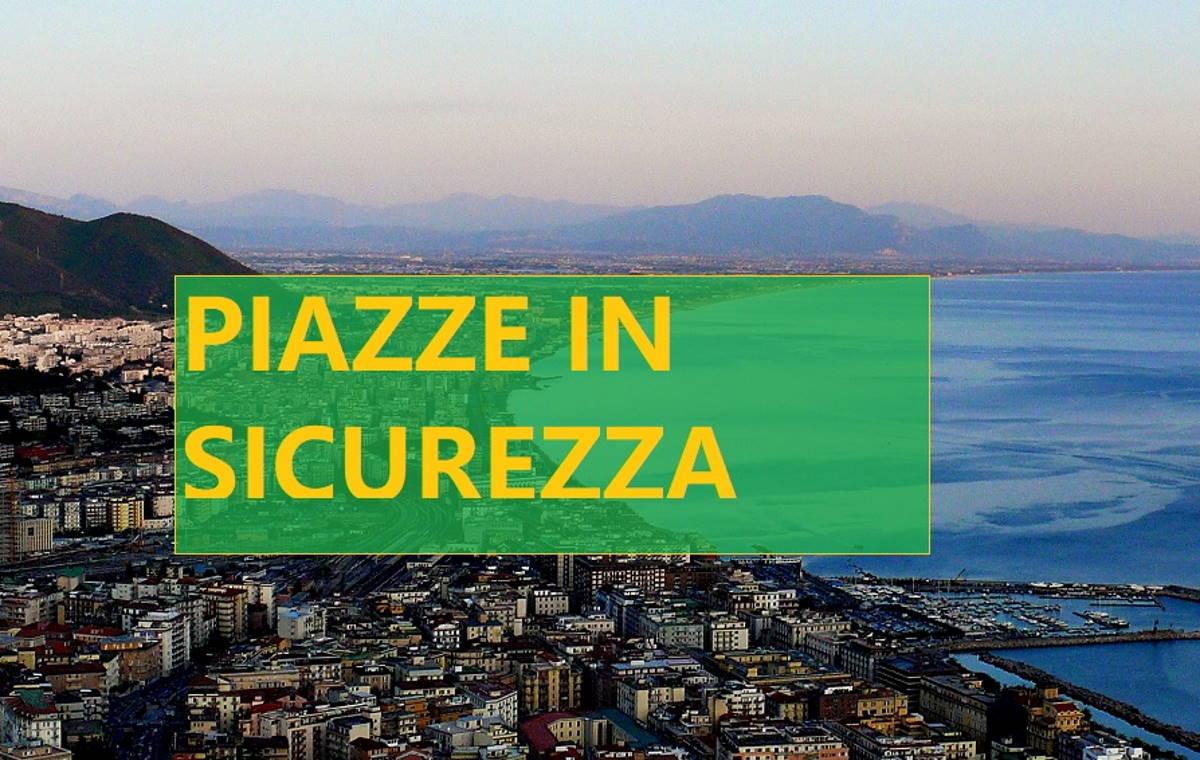A Salerno inizia campagna di sensibilizzazione Piazze in sicurezza. La manifestazione e i luoghi