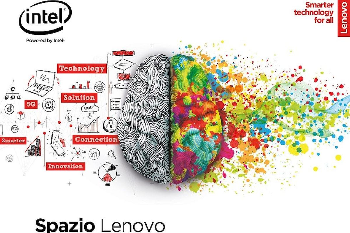La campagna Out-of-Home per l'apertura di Spazio Lenovo