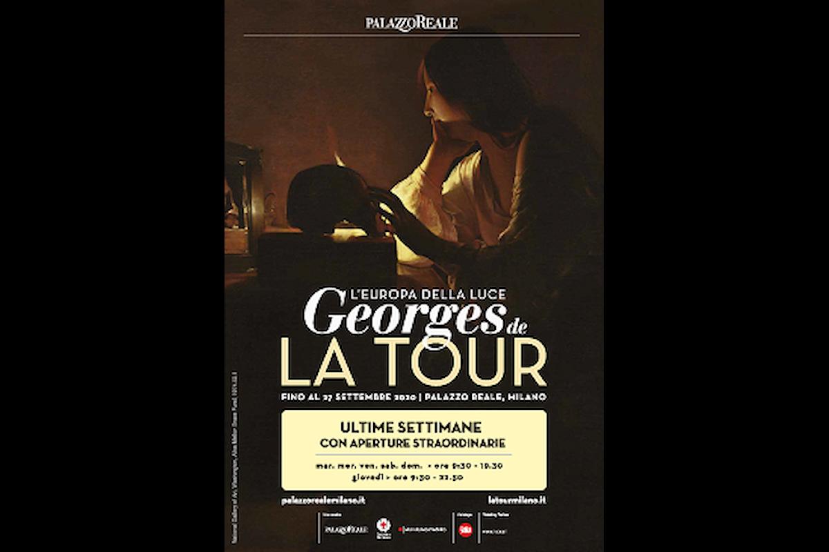 Ultime battute per Georges de LA TOUR: L'EUROPA DELLA LUCE a Palazzo Reale Milano