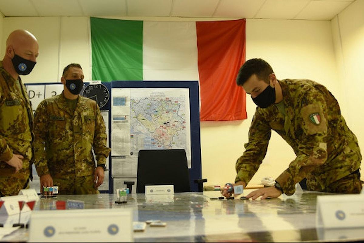 Bosnia: militari del 5° Reggimento Aosta portano a termine esercitazione Quick Response 2020
