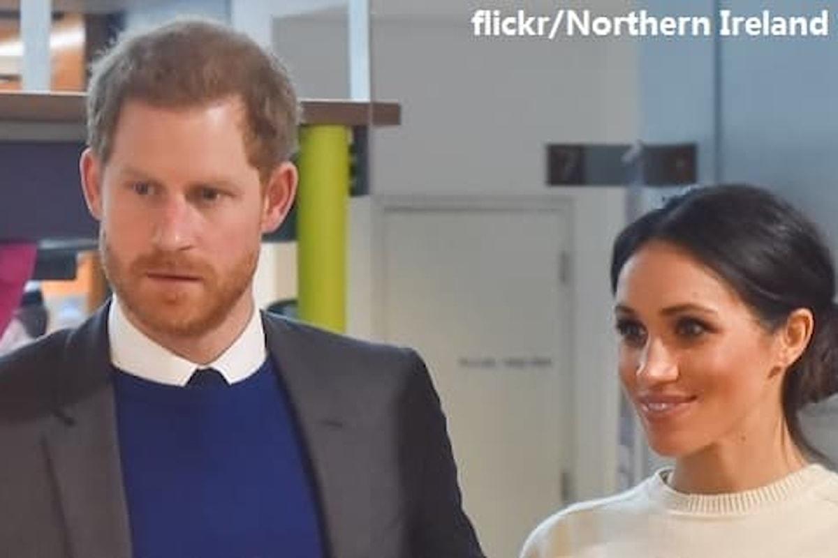 Il principe Harry e Meghan Markle firmano un contratto con Netflix