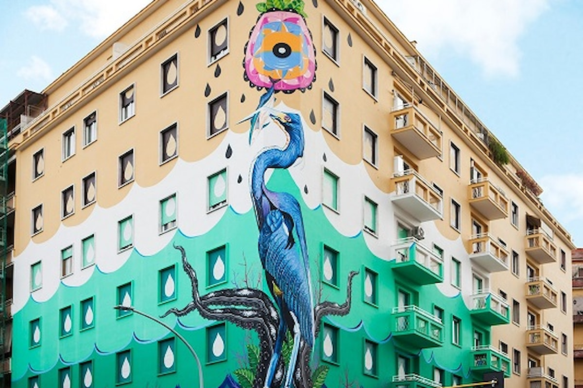 Street Art mangia smog Roma-New York. Dopo Hunting Pollution, Yourban2030 prosegue su scala globale la sua mission tra Arte e Ambiente