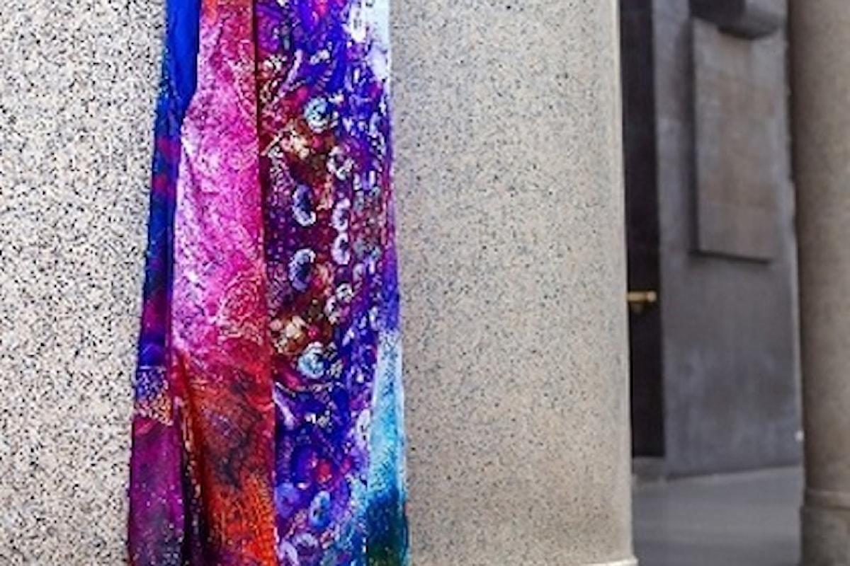 Nei luoghi simbolo di Milano, la 'regina di quadri' di Fabiana Gabellini