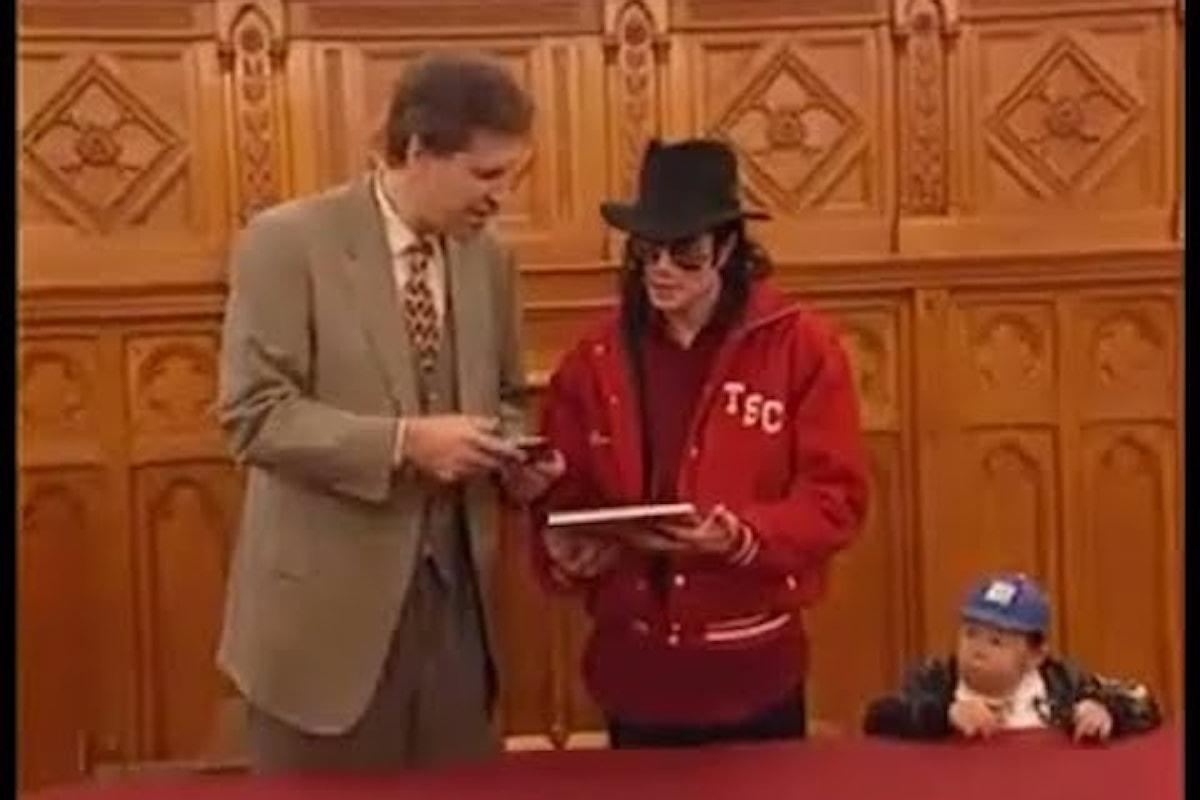 Michael Jackson and me