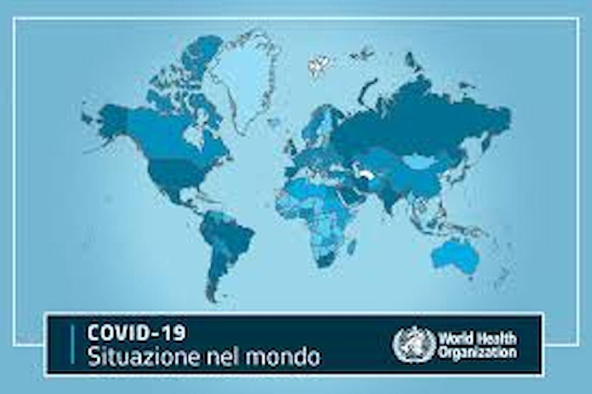 Secondo l'Oms il 10% della popolazione mondiale è stata contagiata dal coronavirus