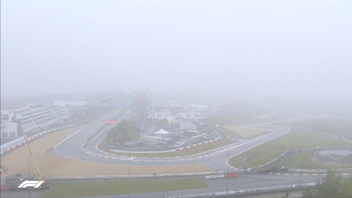 Formula 1, nebbia sul Nurburgring: venerdì niente libere per il GP di Eifel