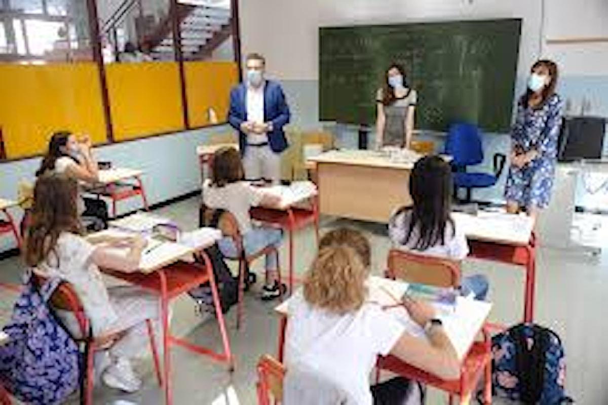 Sono 1492 gli studenti contagiati dal coronavirus e 349 i professori