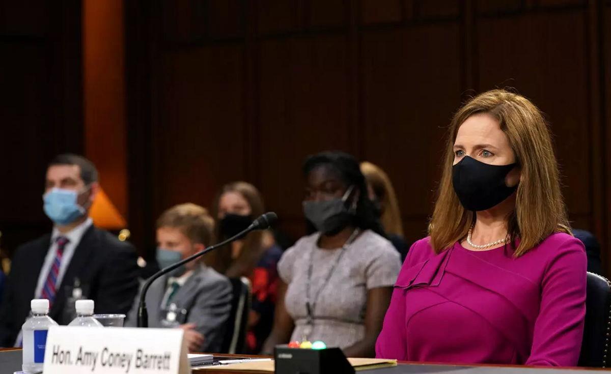 Iniziata lunedì alla commissione Giustizia del Senato l'audizione di Amy Coney Barrett