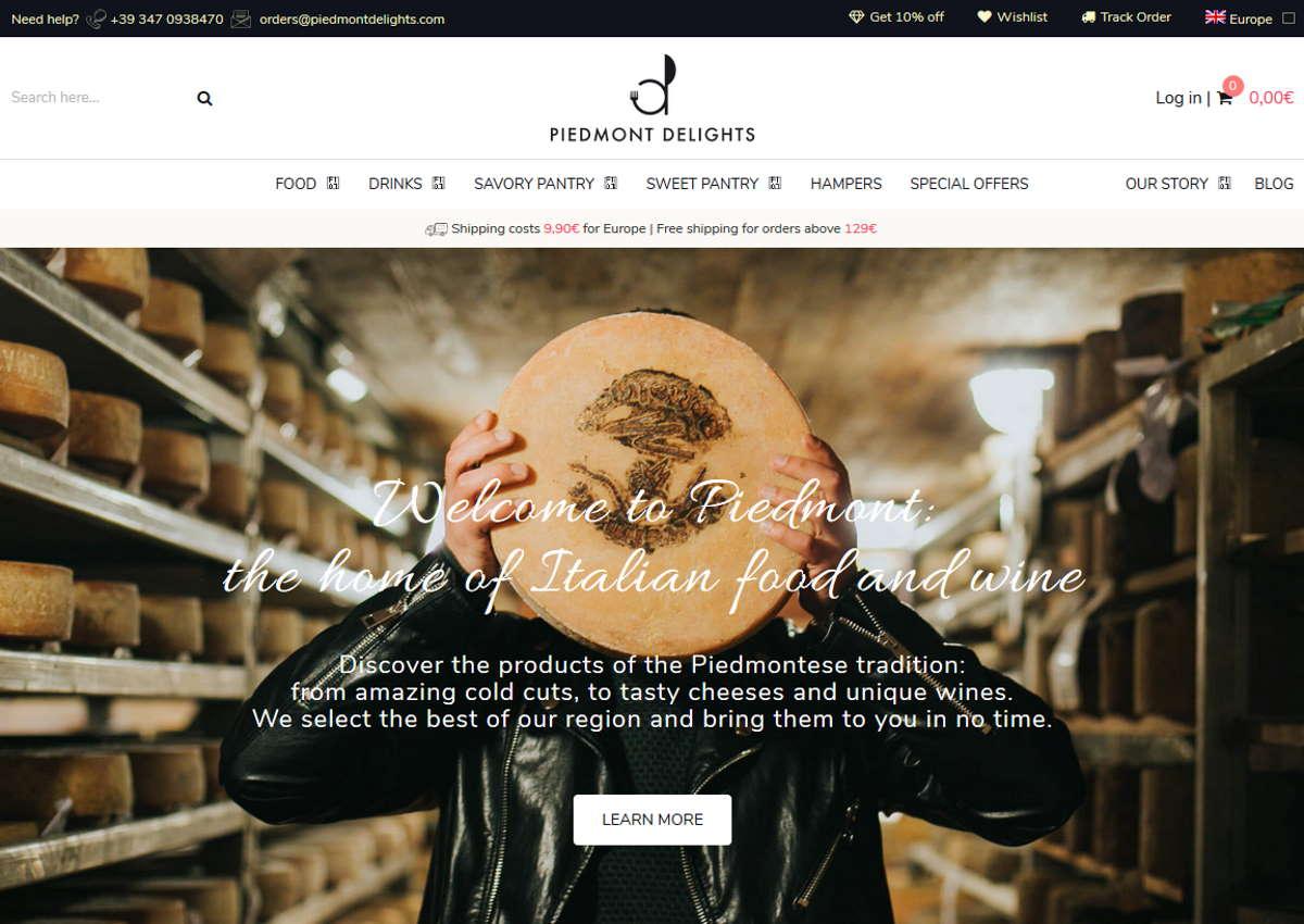 Piedmont Delights: online (tutta) la cultura enogastronomica piemontese
