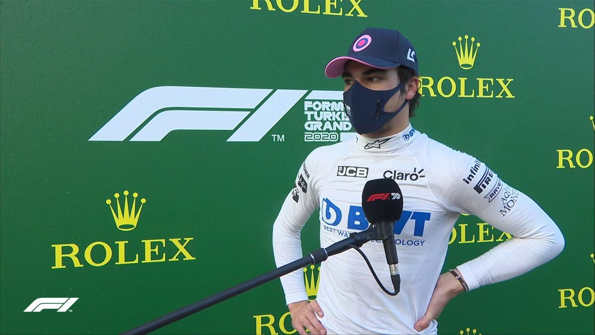 Formula 1, Lance Stroll, Racing Point, la pole del GP di Turchia