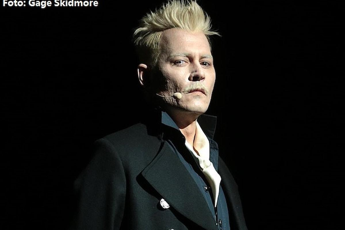 Johnny Depp costretto ad abbandonare Animali Fantastici. La rabbia dei fan