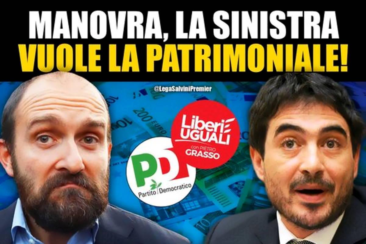 Dalla patrimoniale ai decreti sicurezza: vi pare possibile che uno come Salvini possa rappresentare gli interessi degli italiani?