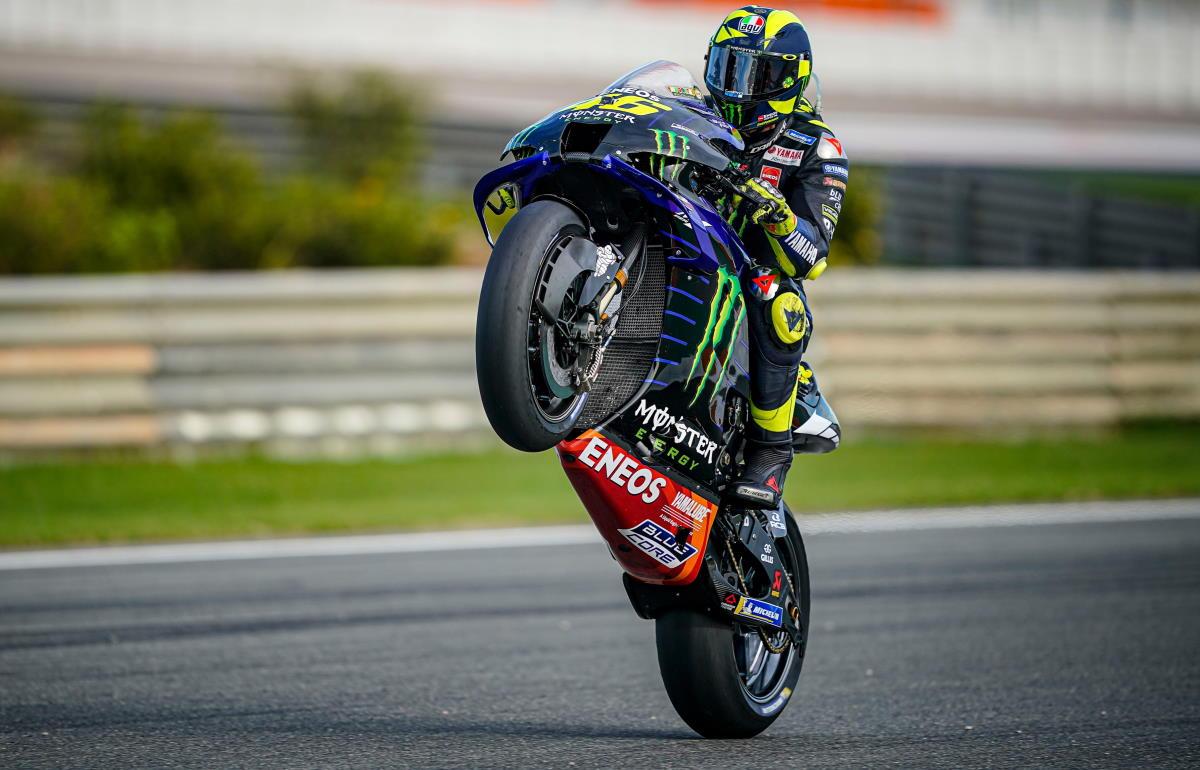 Confermata la partecipazione di Rossi al GP della Comunitat Valenciana