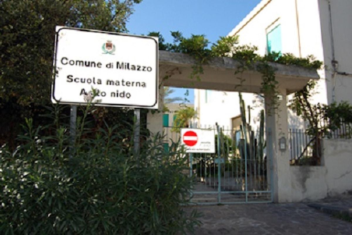 Milazzo (ME) - Sopralluogo dell'Assessore Magistri e dell'esperto Formica all'asilo nido San Pietro