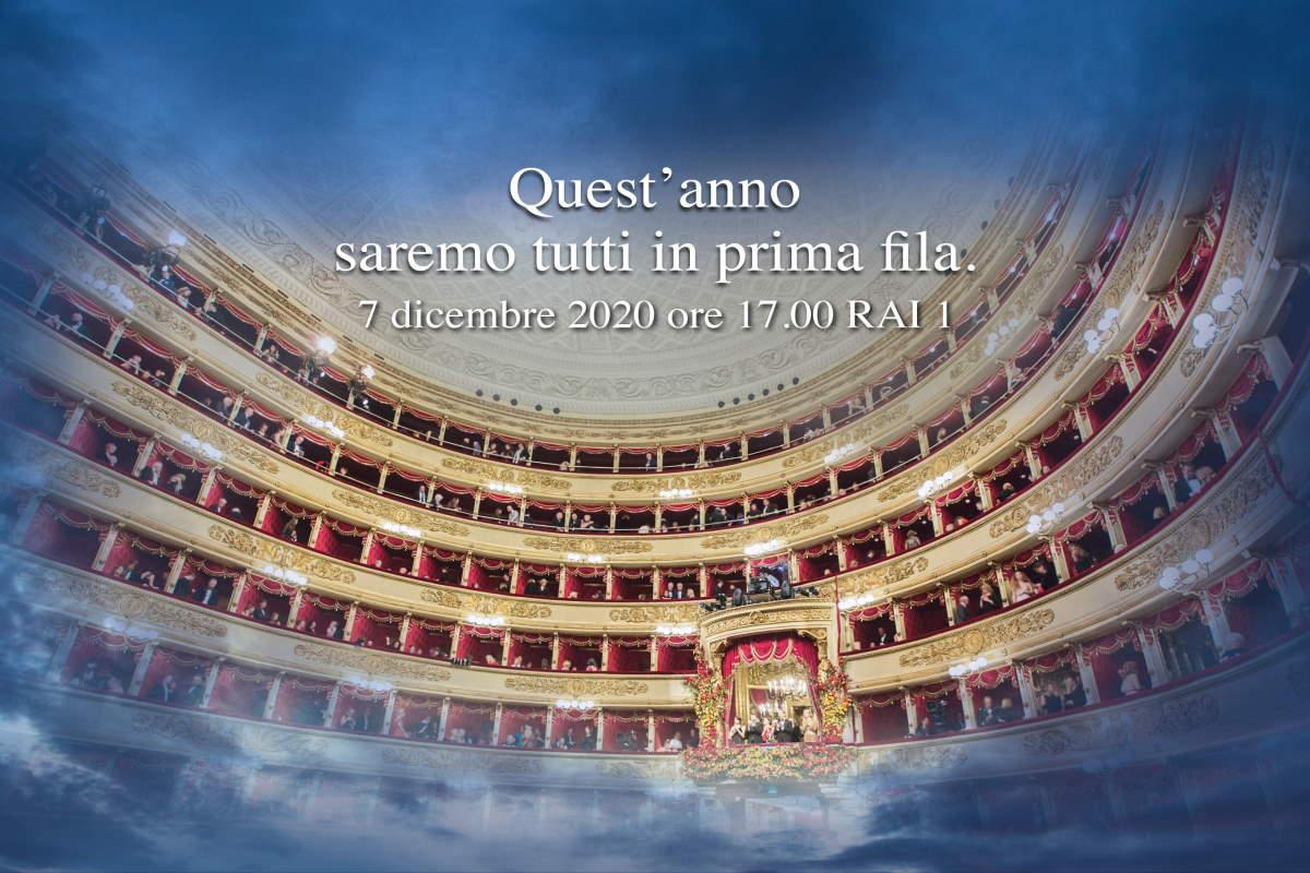 Il 7 dicembre il Teatro alla Scala ci augura che a breve possiamo tornare A riverder le stelle