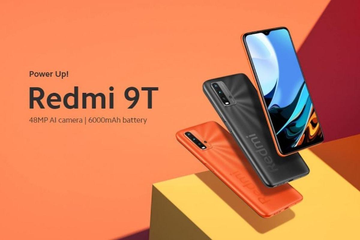 Redmi 9T è stato presentato ufficialmente: uno smartphone low-cost interessante