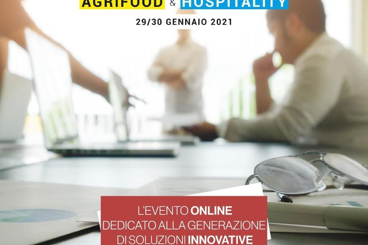We Build Experience - Evento on line dedicato all'Agrifood e all'Hospitality. Dal 29 al 30 gennaio 2021 sulla piattaforma Zoom. Mentor, Speaker, Giudici e Programma dell'evento