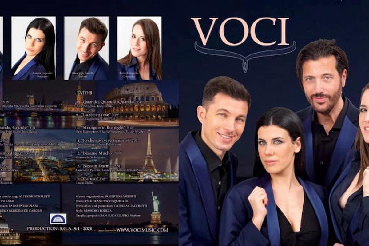 Quattro giovani cantanti lirici napoletani realizzano il loro sogno anche in periodo di Covid