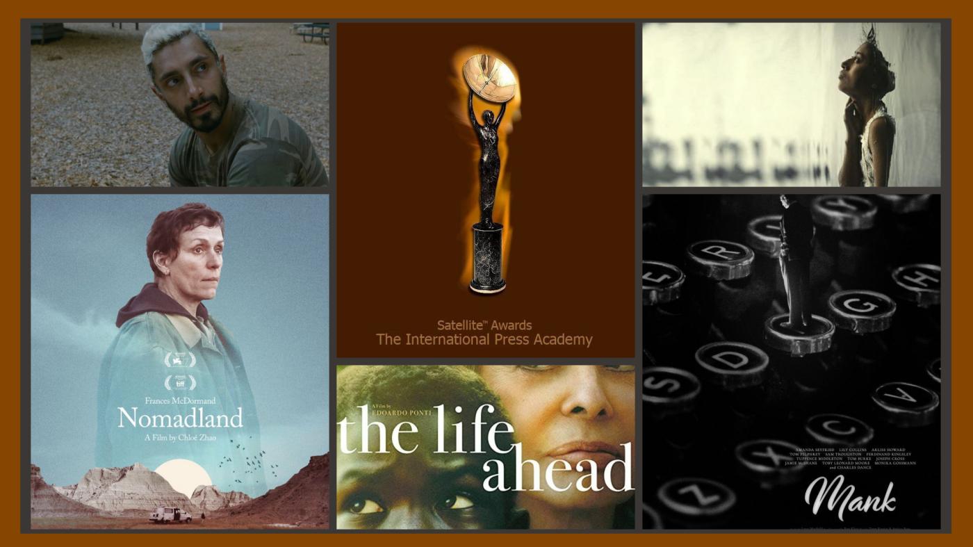 Satellite Awards: Nomadland è il miglior film dell'anno. Per l'Italia il premio per la miglior canzone