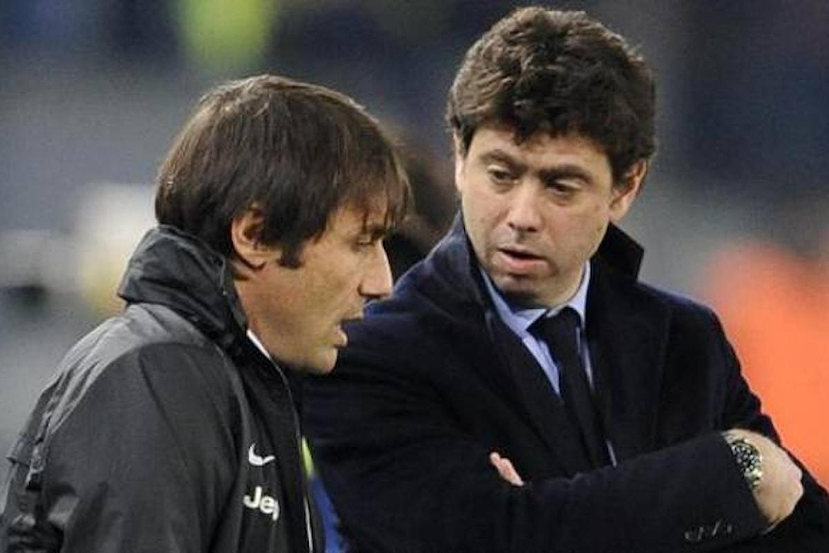 La Procura della Figc si muove sulla lite tra il presidente della Juventus, Andrea Agnelli, e il tecnico dell'Inter, Antonio Conte
