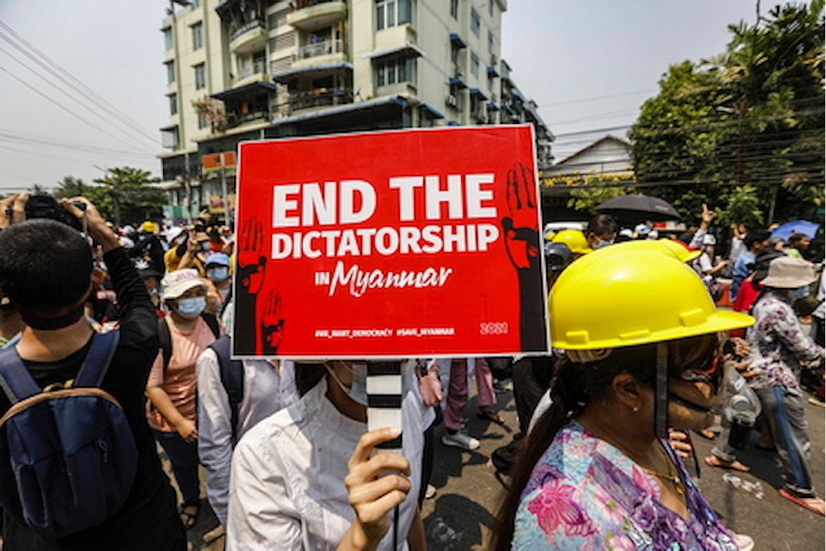 L'Italia ha condannato davanti al Consiglio Onu dei diritti umani la brutale repressione delle proteste pacifiche in Myanmar