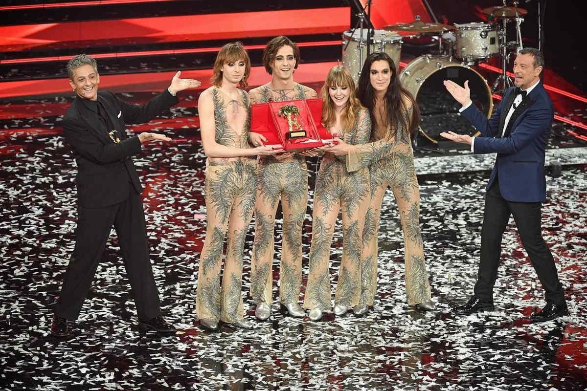Sono stati i Maneskin a vincere la 71.a edizione del Festival di Sanremo
