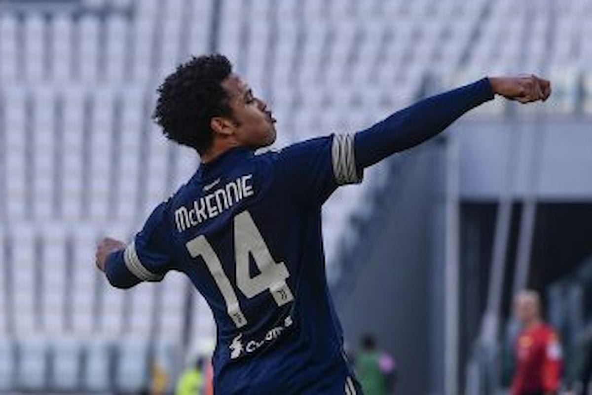 Juventus, riscattato McKennie: le cifre ufficiali