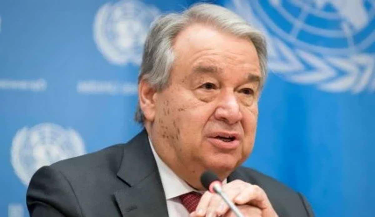 Il segretario Generale delle Nazioni Unite, Antonio Guterres, denuncia la mancanza di vaccini in molti paesi dell'africa