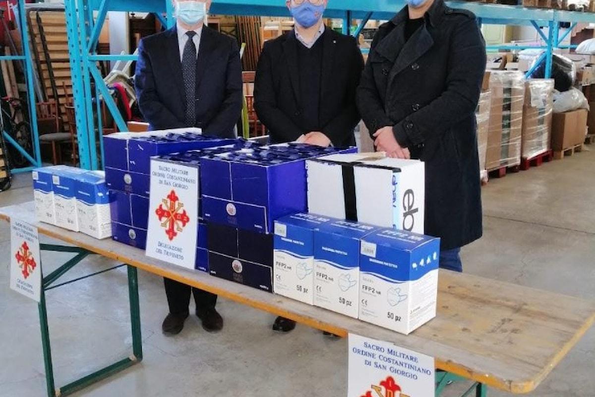 Donazione dell'Ordine Costantiniano di San Giorgio a Udine