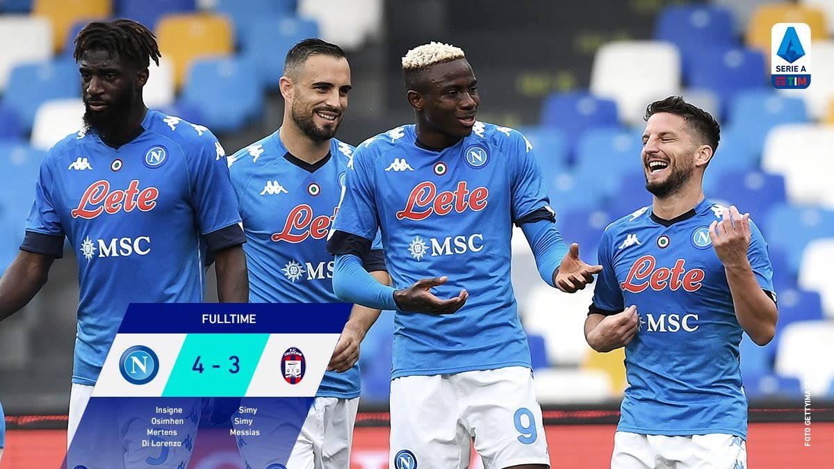 Serie A, dopo la 29.esima giornata si delineano le posizioni in testa e in coda alla classifica