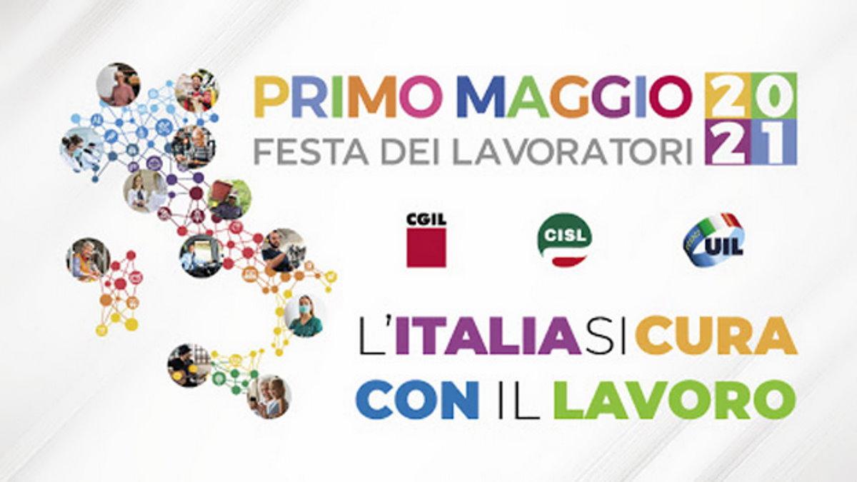 Cgil, Cisl e Uil hanno scelto di celebrare il Primo Maggio in tre luoghi simbolo del lavoro in Italia