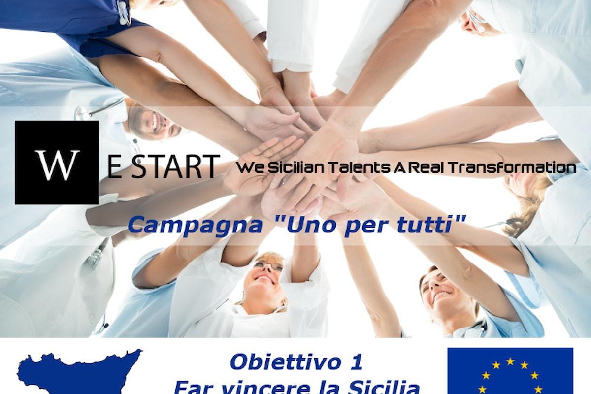 """La nuova programmazione di fondi europei e la campagna """"Uno per tutti"""" di WeStart. Obbiettivo 1 - Far vincere la Sicilia"""