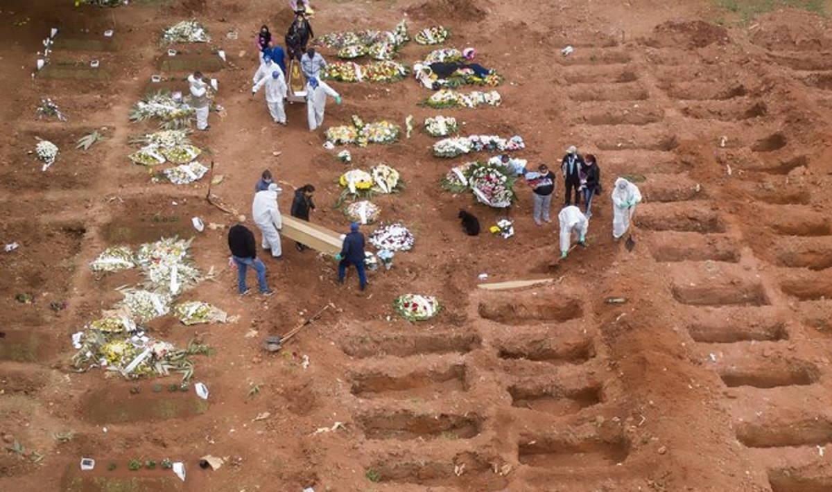 Brasile: nuovo record di decessi per Covid, 4.249 nelle ultime 24 ore