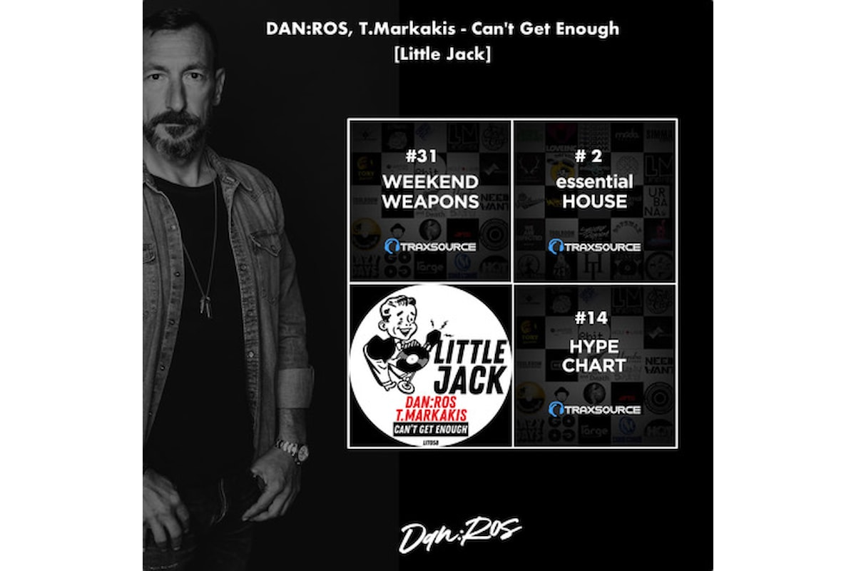 DAN:ROS, Can't Get Enough assieme a T.Markakis su Little Jack