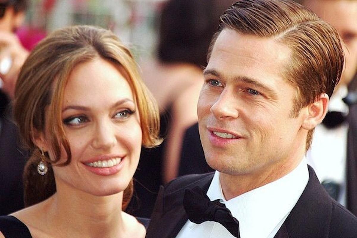 Brad Pitt ottiene l'affidamento congiunto dei figli