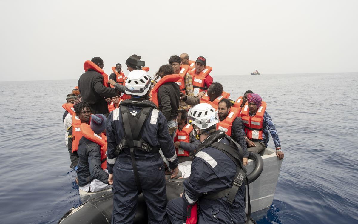 La solita inaccettabile dichiarazione del solito Salvini sull'emergenza migranti che di nuovo interessa il Mediterraneo
