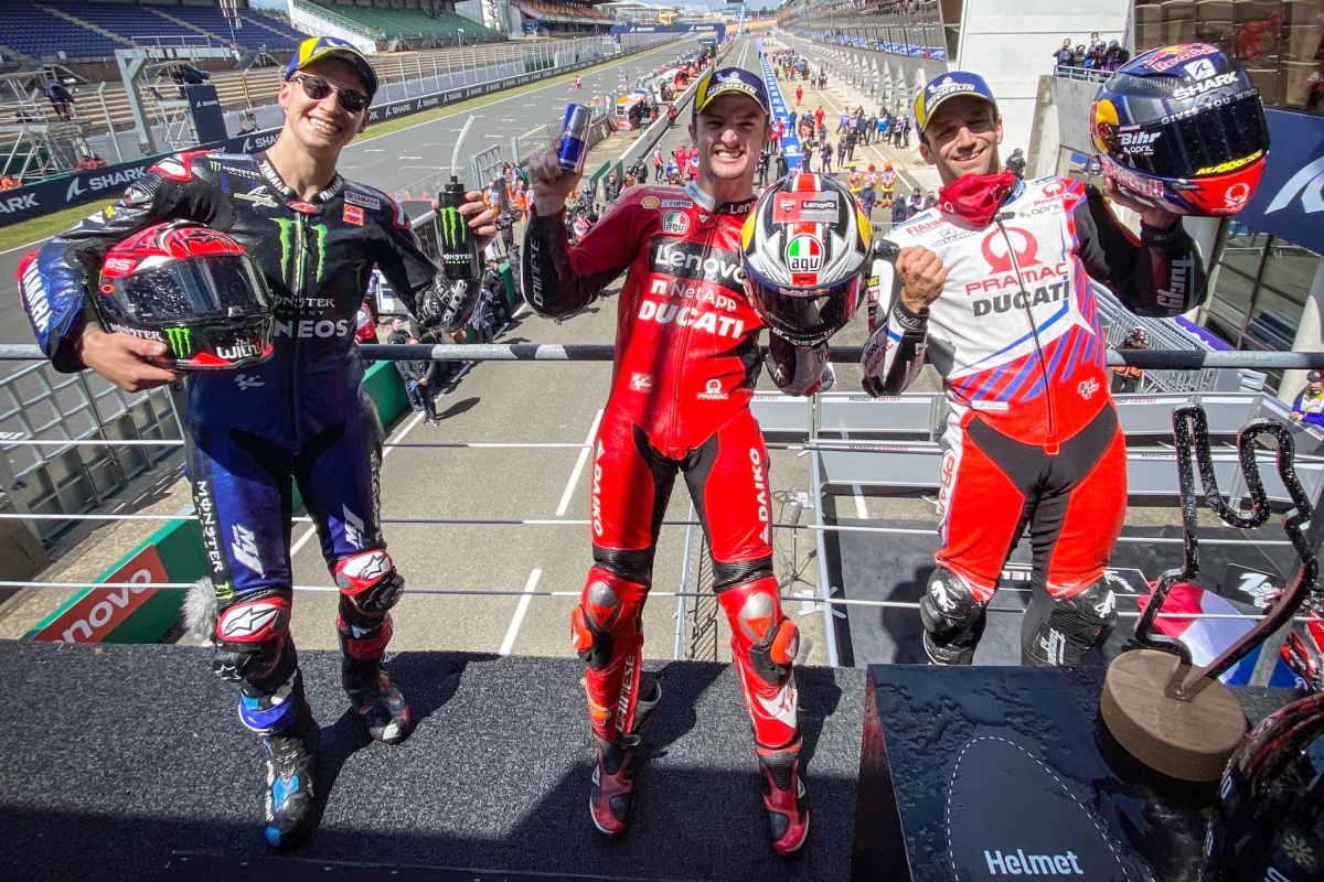 MotoGP, nella pioggia Miller non ha rivali e nel GP di Francia conquista la seconda vittoria consecutiva