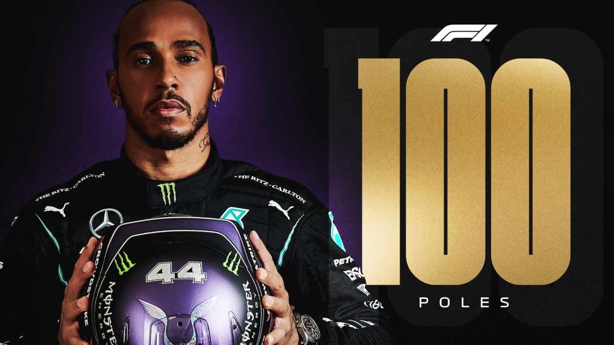 Formula 1, nelle qualifiche del GP di Spagna Hamilton conquista la sua 100.esima pole