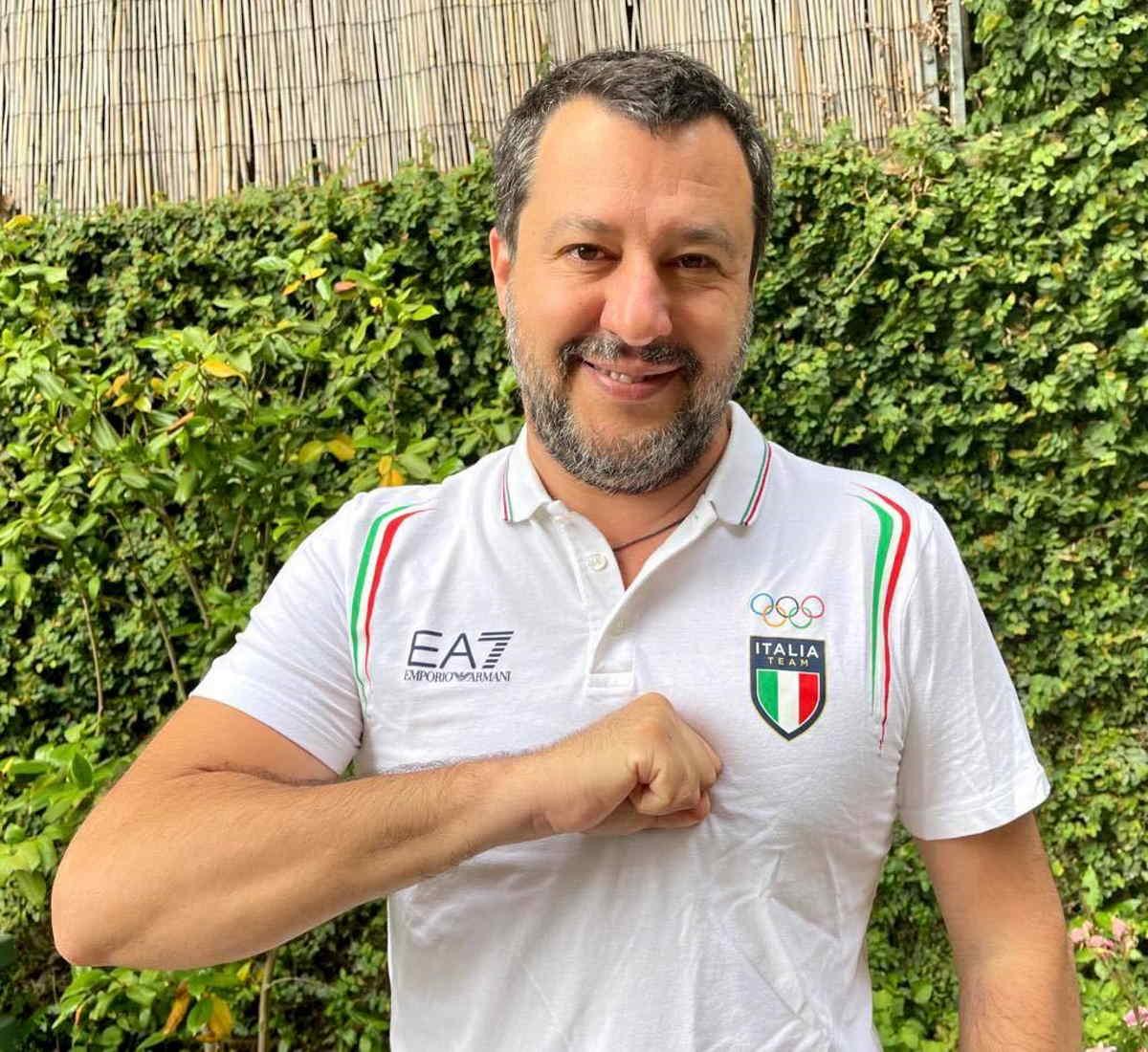 La metamorfosi di Salvini: una volta padano, adesso italiano