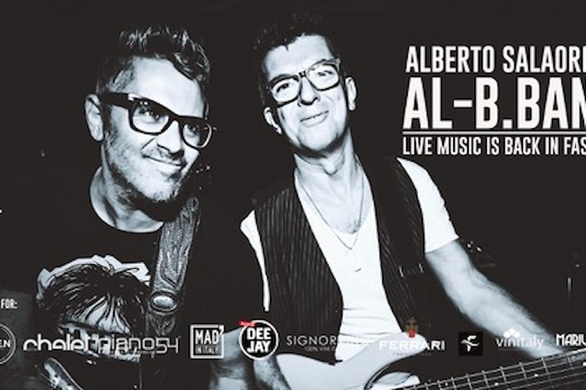 Alberto Salaorni & Al-B.Band il 20 giugno 2021 al Signorvino Affi (VR)