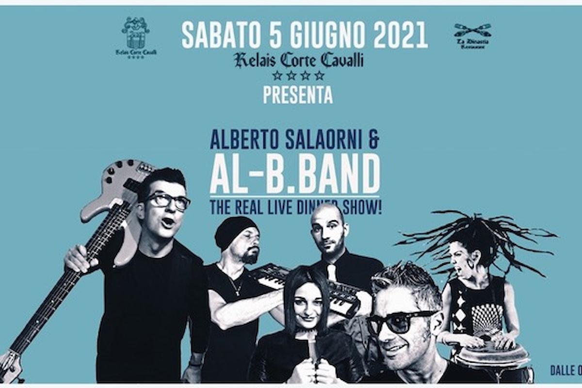 05/06 Alberto Salaorni & Al-B.Band - dinner show @ Relais Corte Cavalli - Ponti sul Mincio (MN)