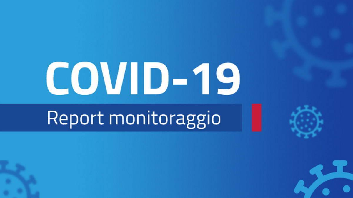 Report monitoraggio Covid dal 31 maggio - 6 giugno 2021