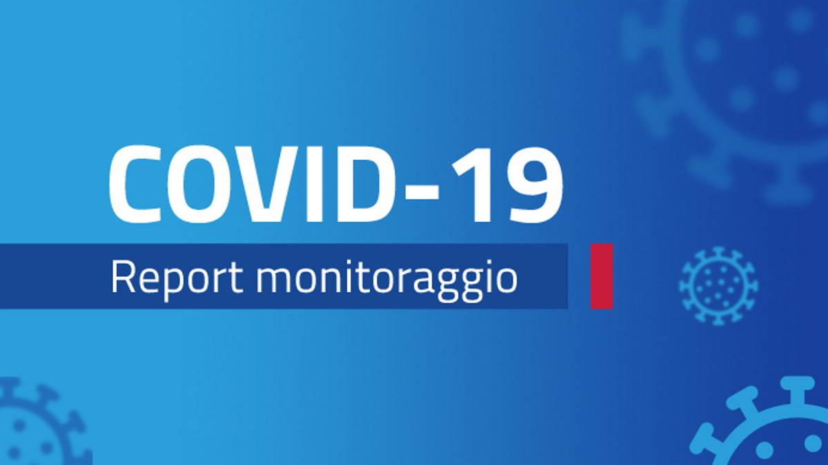 Report monitoraggio Covid dal 7 al 13 giugno 2021